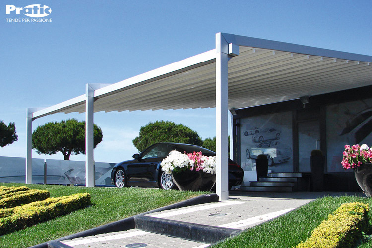 Pergolati Da Giardino In Alluminio : Tende da sole trento paller pergole in alluminio della serie tecnic